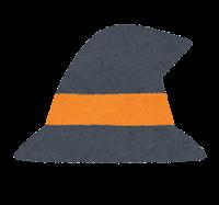 ハロウィンのマーク(魔女の帽子)