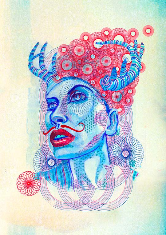 Ilustración digital, posters y más por Eric Van Den Boom aka Boomartwork