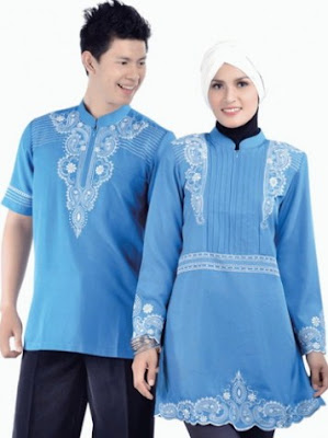 Model baju muslim couple terbaru