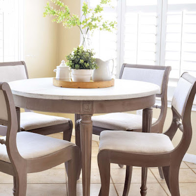 Ardent Hands Designs: Restoration Hardware Inspired Table