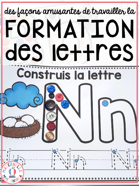 Letter formation is a HUGE part of kindergarten! We need our students to know their letters and sounds like the backs of their hands if they are going to be successful readers and writers. Check out some of my favourite alphabet activities to do with my French kindergarten students!