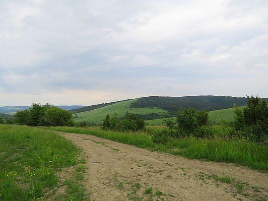 Widok na Szeroki Łan.