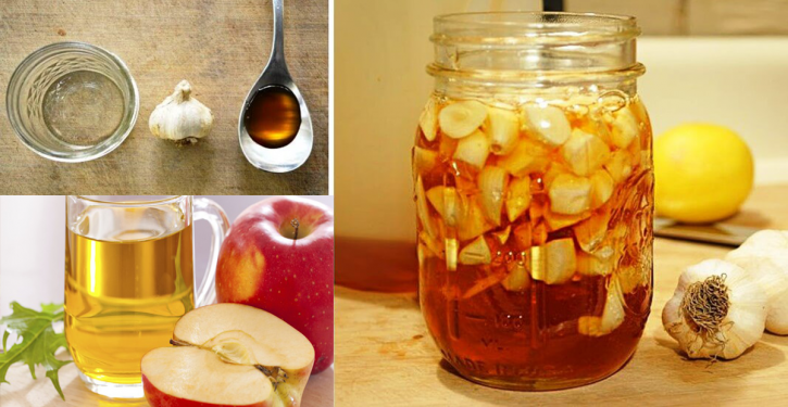 Recipe Garlic, Honey And Apple Cider Vinegar: It Is A Natural Medicine That Heals Many Diseases