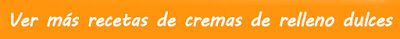 Recetas de cremas dulces