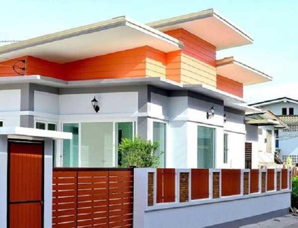 Cách chọn màu sơn tường rào phù hợp với kiến trúc ngôi nhà