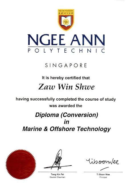 Diploma (Conversion) Marine and Offshore Technology