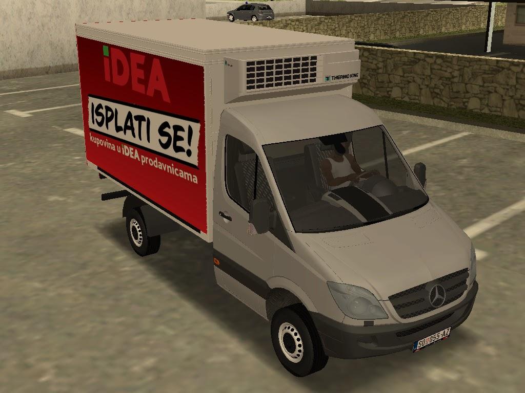 gta serbia mercedes benz sprinter transporter. Black Bedroom Furniture Sets. Home Design Ideas