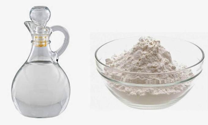 Vinagre e Bicarbonato de Sódio