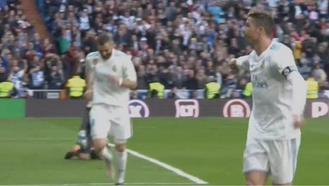 Le superbe geste de Ronaldo envers Benzema après sa passe décisive