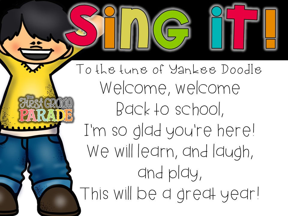 Back to school ideas freebies the first grade parade fandeluxe Image collections