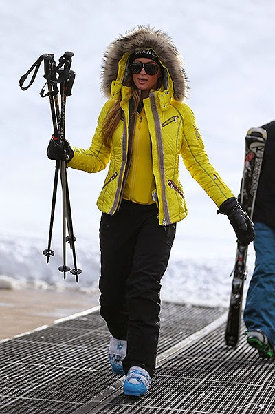 Hollywood celebrities on vacation in Aspen