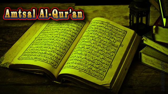 Makalah Amtsal Al-Qur'an