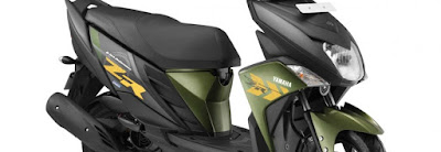Yamaha Cygnus Ray-ZR Scooter body look