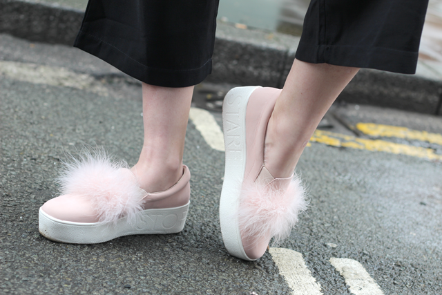 fur trainers trend 2016
