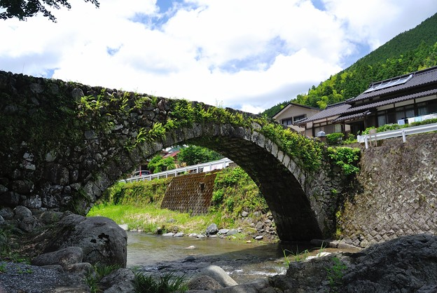 Kasamatsu Bridge in real life