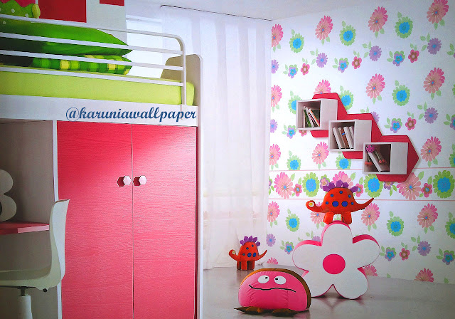wallpaper kids jual surabaya