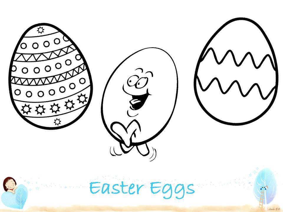 Play & Learn: Nuevos huevos de Pascua para colorear
