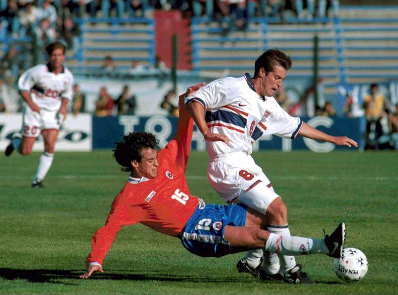 Estados Unidos y Chile en Copa América 1995, 8 de julio