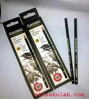 Pensil Grebeel 2B