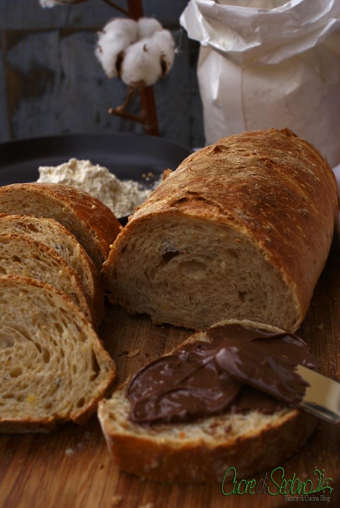 Pane Ai Cereali Con Lievitazione Naturale Cuore Di Sedano