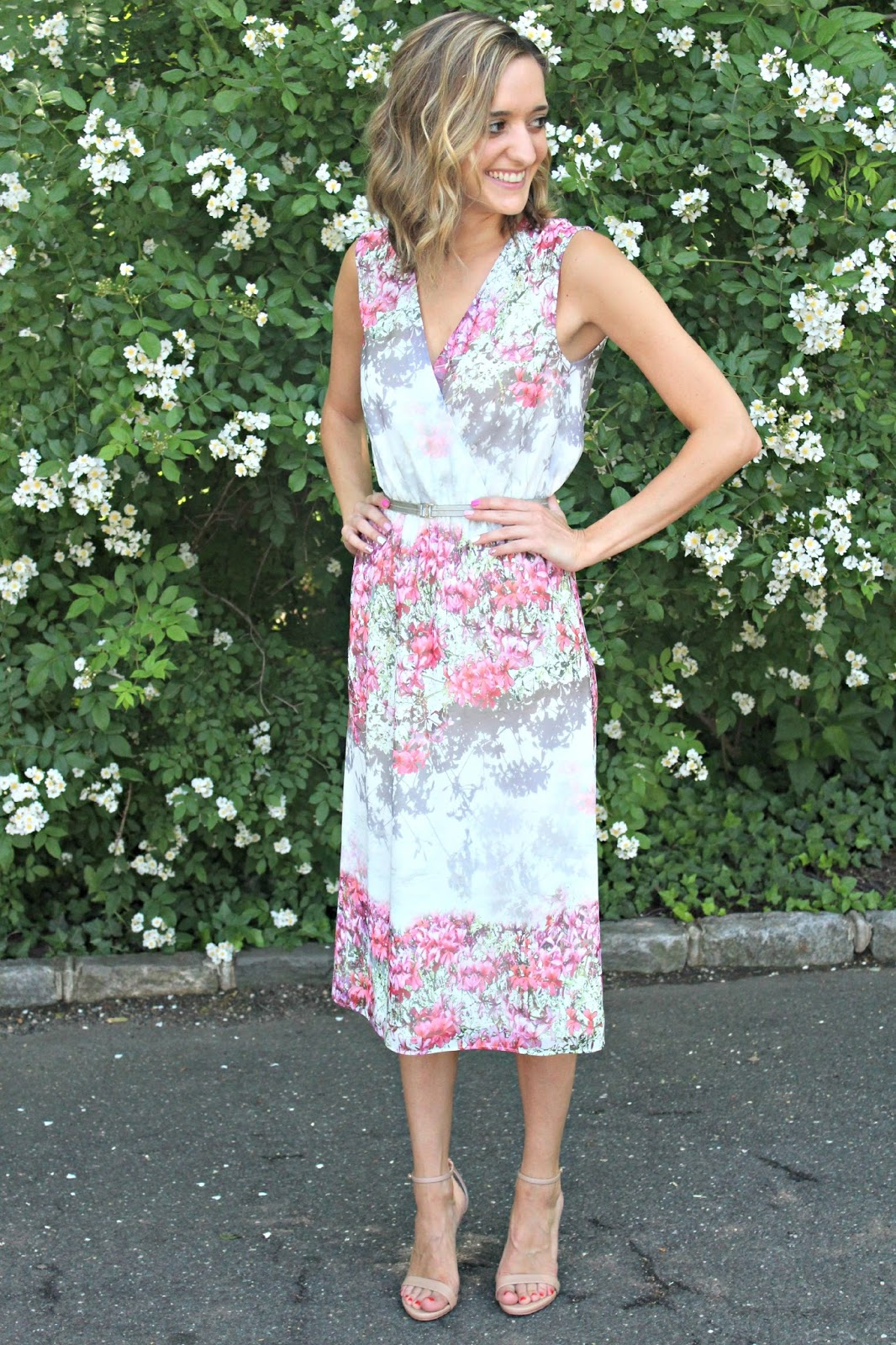 ladylike midi dress
