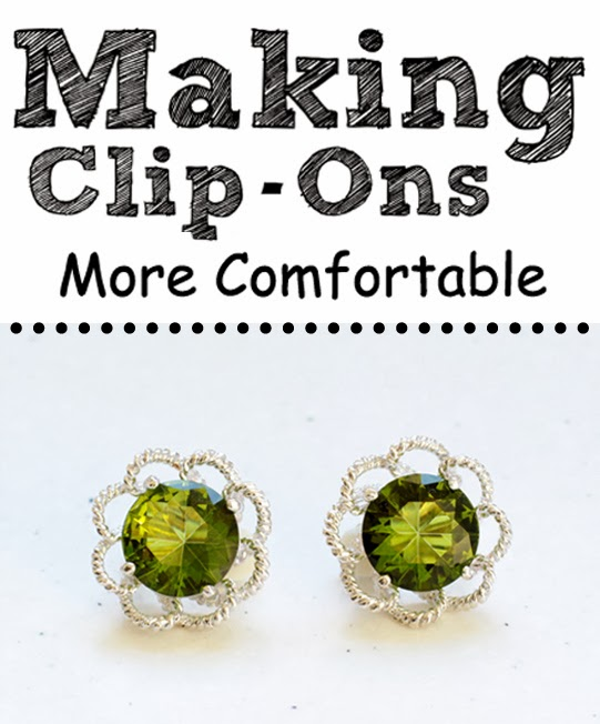 Making Clip On Earrings More Comfortable