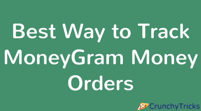 Track MoneyGram Money Orders