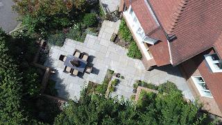 Kandla grey Indian sandstone patio