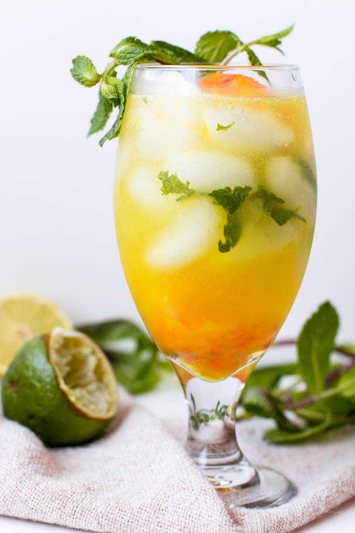 Orange Pomelo Turmeric Mojito by Meg is Well