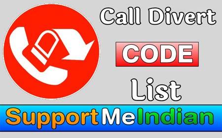 Call divert code