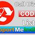 Call Divert code : Latest codes list.