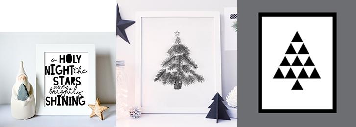 Free Modern Christmas Designs