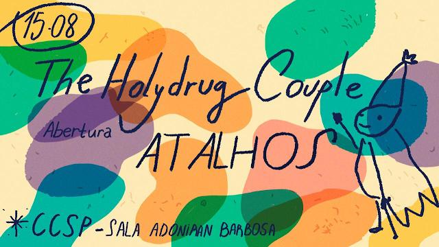 Duo de pop psicodélico The Holydrug Couple se apresenta dia 15/8 no CCSP