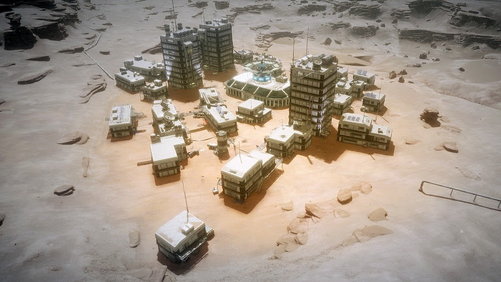 Memories of Mars game image - Martian town