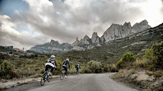 Montserrat mountain by bike