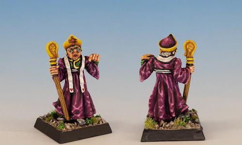 Talisman Priest, Citadel Miniatures (1985, sculpted by Aly Morrison)