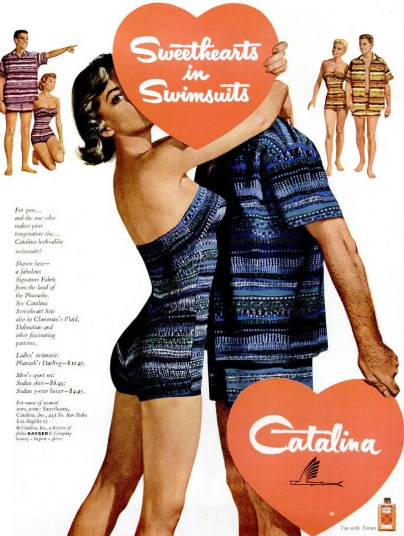 d33d2d4569 My Pretty Baby Cried She Was a Bird: Catalina Sweetheart Swimsuits ...