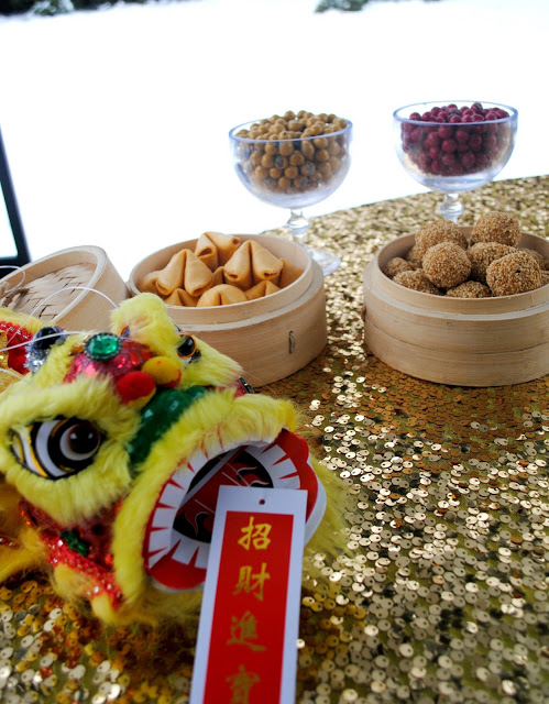 Chinese New Year party inspiration styled by Fizzy Party