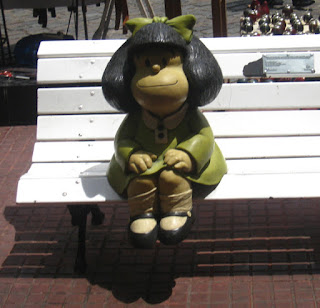 Mafalda, en el Paseo de la Historieta