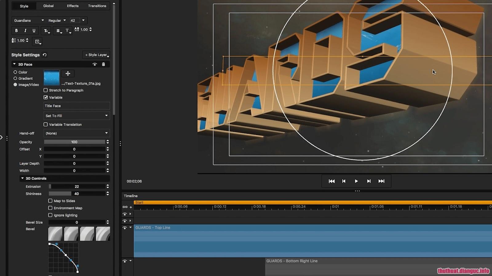 Download NewBlueFX Titler Pro 6.0.180719 Ultimate Full Version – Thiết kế tiêu đề video