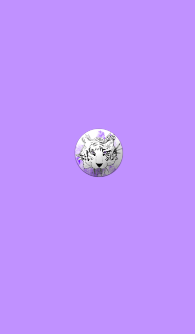 Purple Tiger Badge
