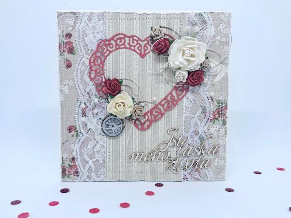 Paper Garden ... Valentýnky z kitu Mému Valentýnovi