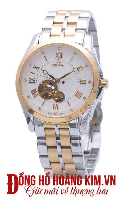đồng hồ nam dây thép omega giá rẻ