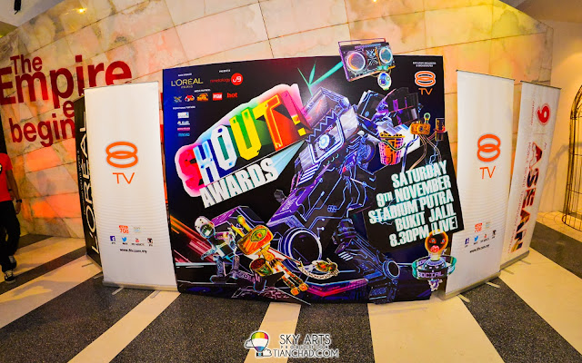8TV Shout Awards Nominees Revealed @ Subang Empire Hotel. Vote now!!