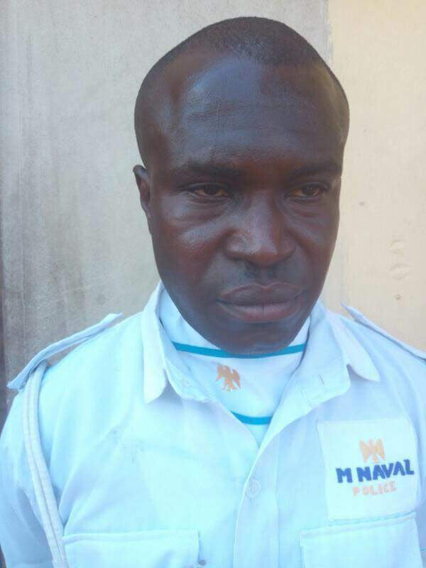 See the face of the man who chained wife to power generator