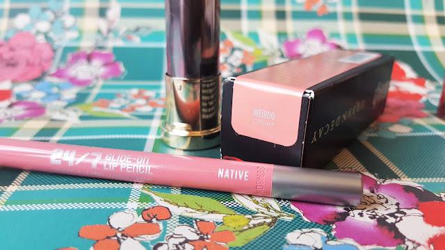 Urban Decay Vice Cream Lipstick in Weirdo & 24/7 Lip Pencil in Native Review