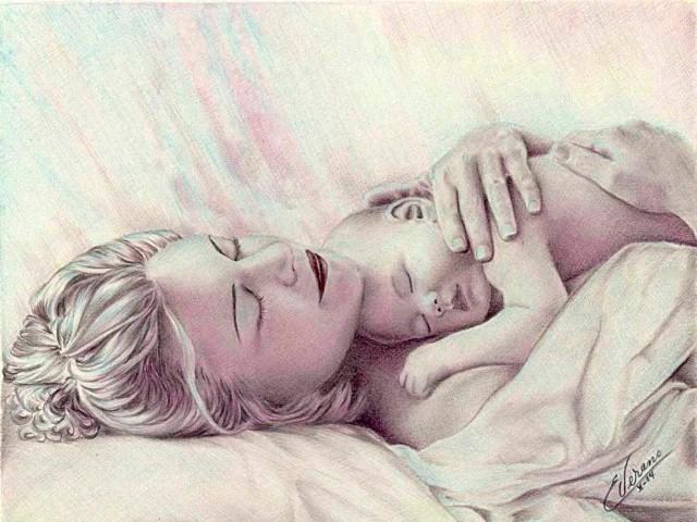 Рисунки карандашом. Elia Verano 22