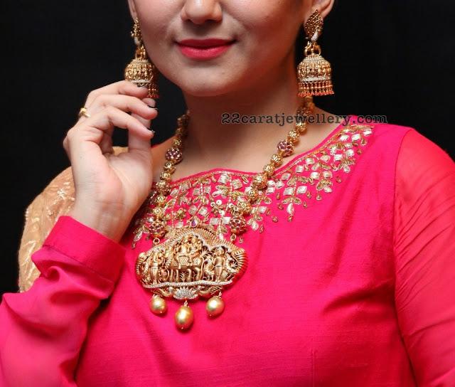 Eesha Nakshi Balls Long Set