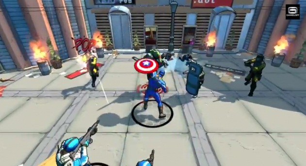 """Captain America: The Winter Soldier"" is now launched for Android and iOS"