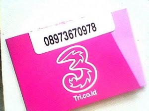 Cara Daftar Perdana Simcard 3 (Three) Menggunakan ID Outlet